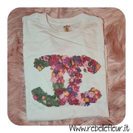 Tshirt CC floreale