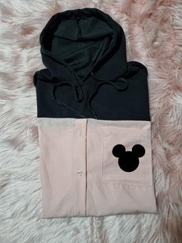 Camicia con cappuccio topolino