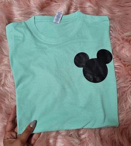 Tshirt Verde Menta topolino