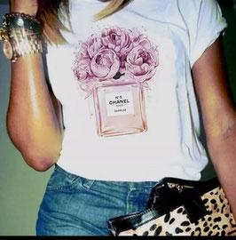 Tshirt Vaso con rose