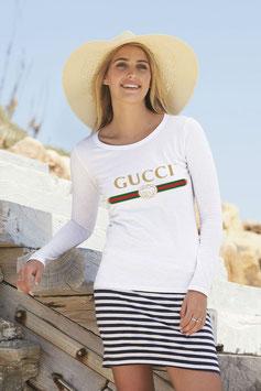 Maglietta attillata Italy gold