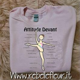 Felpa Attitude Devant