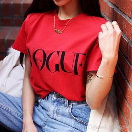 Tshirt Vogue Rossa