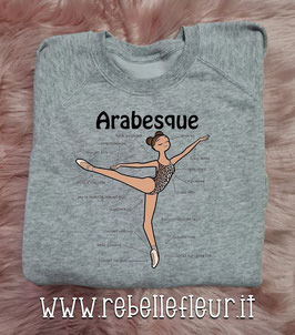 Felpa Arabesque