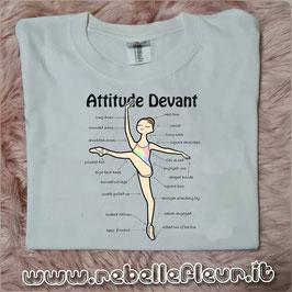 Tshirt Attitude Devant