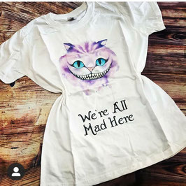 Tshirt Stregatto Alice