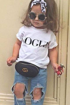 Tshirt Vogue bimba