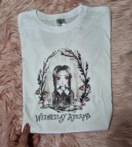 Tshirt Addams / Regina di cuori