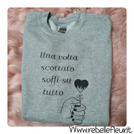 Felpa Scottato
