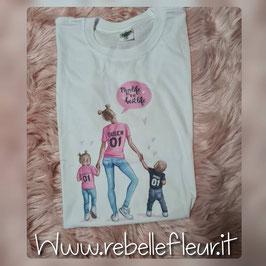 Tshirt Mamma con codini