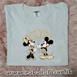 Tshirt Minnie e topolino palloncini