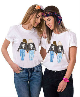 Tshirt coppia Best Friends