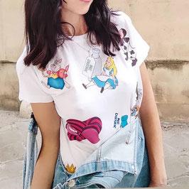 Tshirt ALice in Wonderland