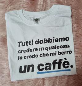 Tshirt  berrò un caffè