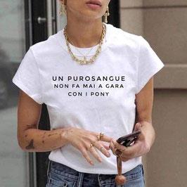 Tshirt purosangue