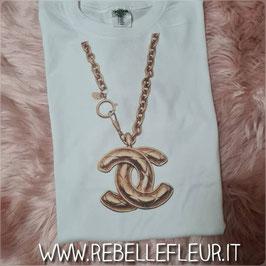 Cc Necklace Tee