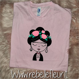 Tshirt New Frida Rosa chiaro
