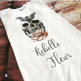 Tshirt Rebelle Fleur