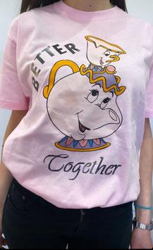 Tshirt Mrs. Potts Rosa