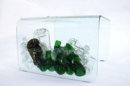 Nur-Glastisch mit kränzgenialem Touch