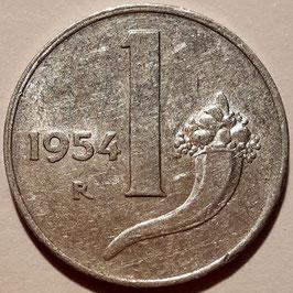 Italy 1 Lira 1951-2001 KM#91