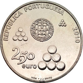 Portugal 2,50 € 2010 - 200th Anniversary of the Torres Defence Line KM#800 UNC