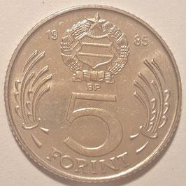Hungary 5 Forint 1983-1989 KM#635