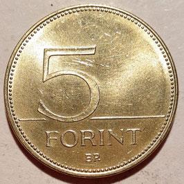 Hungary 5 Forint 1992-2011 KM#694