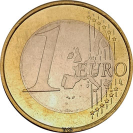 Germany 1 Euro 2002-2006 KM#213