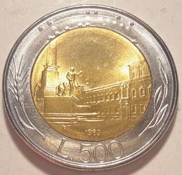Italy 500 Lire 1982-2001 KM#111