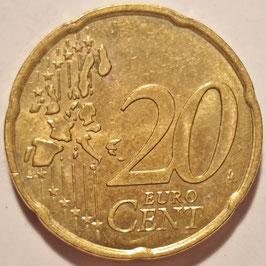 France 20 Cents 1999-2006 KM#1286