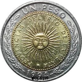 Argentina 1 Peso 1994-2016 KM#112.1