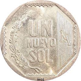 Peru 1 Nuevo Sol 2001-2011 KM#308.4