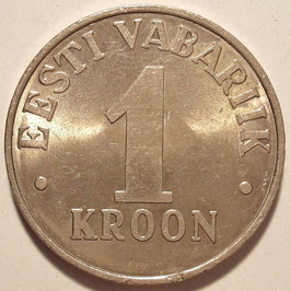 Estonia 1 Kroon 1992-1995 KM#28