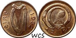 Ireland ½ Penny 1971-1986 KM#19