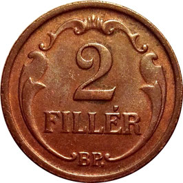 Hungary 2 Filler 1926-1940 KM#506