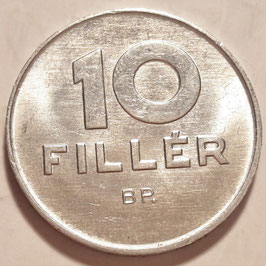 Hungary 10 Filler 1967-1989 KM#572