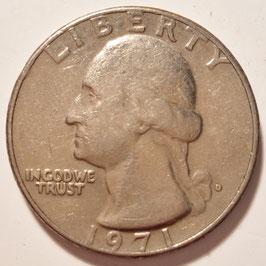 USA ¼Dollar 1965-1998 KM#A164a