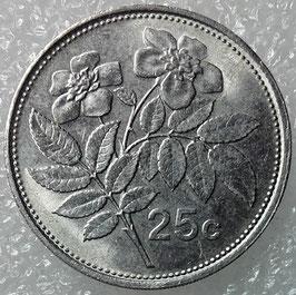 Malta 25 Cents 1991-2007 KM#97