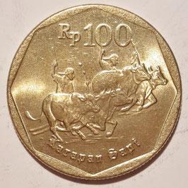 Indonesia 100 Rupiah 1991-1998 KM#53