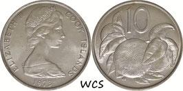 Cook Islands 10 Cents 1973 KM#4 UNC
