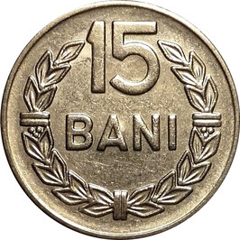 Romania 15 Bani 1966 KM#93