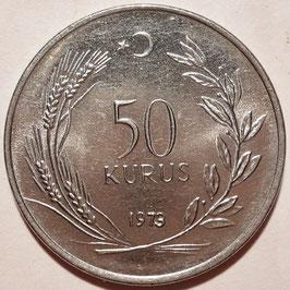 Turkey 50 Kurus 1971-1979 KM#899