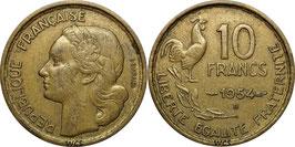France 10 Francs 1950-1954 Beaumont-le-Roger KM#915.2