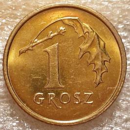 Poland 1 Grosz 1990-2014 Y#276