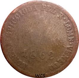 Lombardy–Venetia 1 Soldo 1862 A C#35.1 VG
