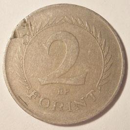 Hungary 2 Forint 1957-1962 KM#556