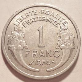 France 1 Franc 1941-1959 KM#885a