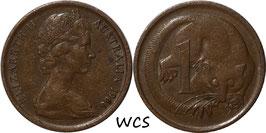 Australia 1 Cent 1966-1984 KM#62