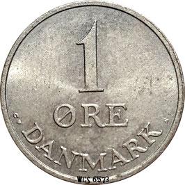 Denmark 1 Öre 1956-1971 KM#839.2